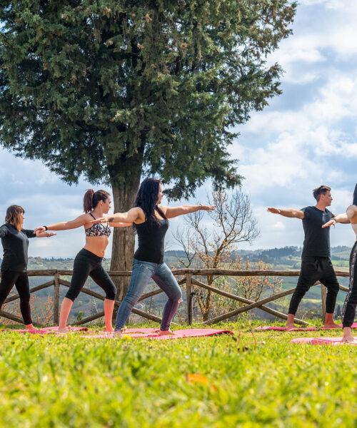 Yoga en plein nature