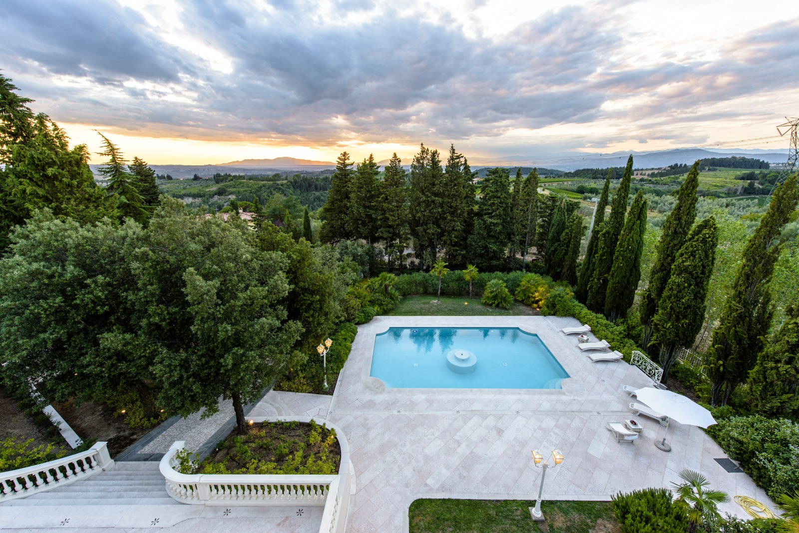 Luxury meets nature at Villa Divina, in Tuscany.